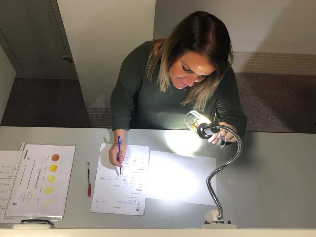 panel de catadores laboratorio sensorial