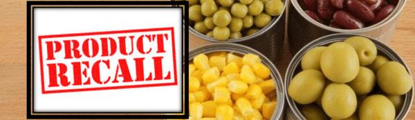 recall de producto agroalimentario