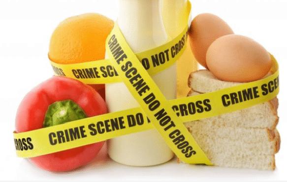 alimentos con unas indicaciones de bioterrorismo