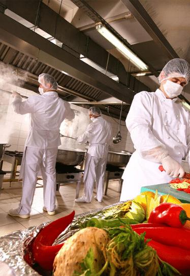 cocinas manipulador alimentos